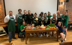 Marshall volleyball builds team by working on cooking skills