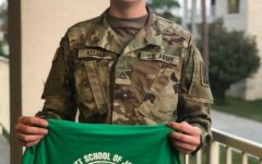 Journalist soldier finds home away from Marshall family