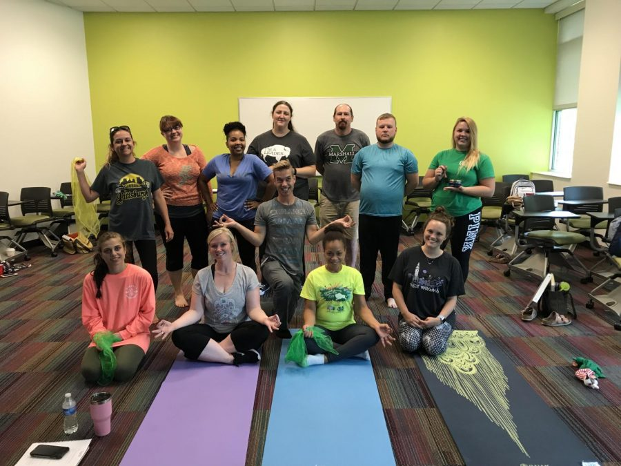 Yoga+EQ+teaches+Marshall+counselors+new+approaches
