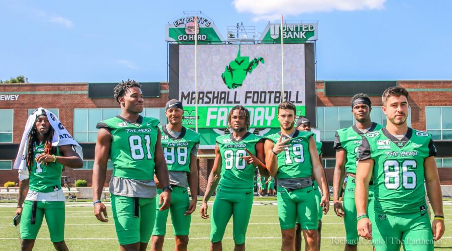 Herd football prepares for 2019 season with weekend events