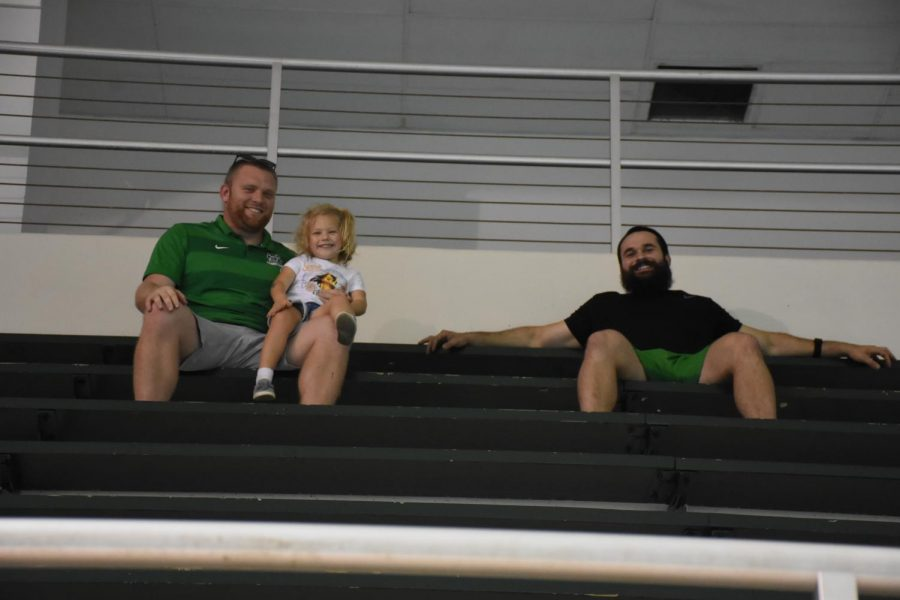 MU Swim and Dive Alumni Meet: Strength and Conditioning cheering on the Herd