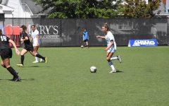 Women's soccer wins on senior night