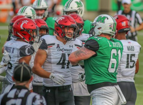 Herd football falls in large margin to Cincinnati