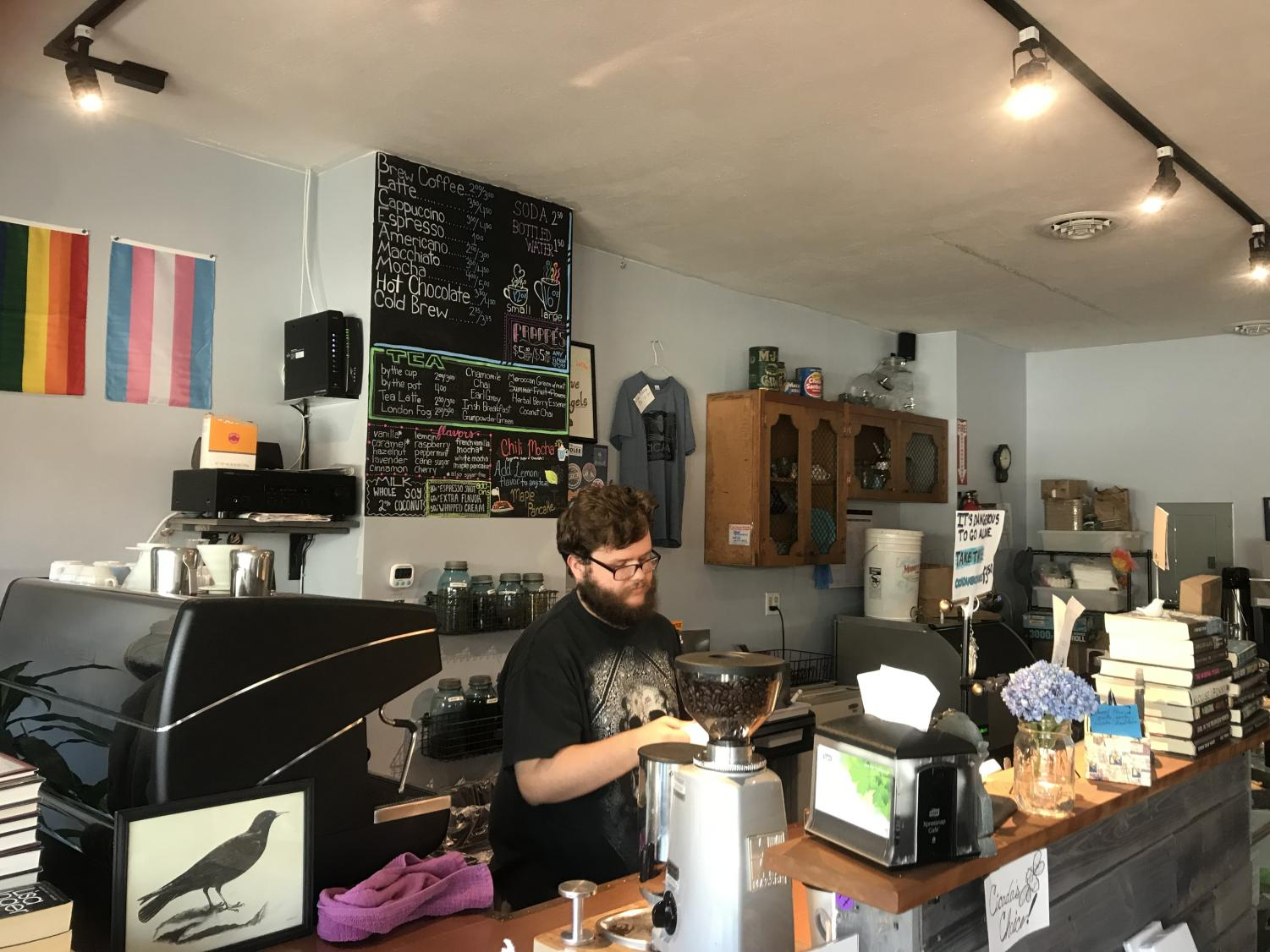 Cicada Books and Coffee provides a calm atmosphere for the local community.