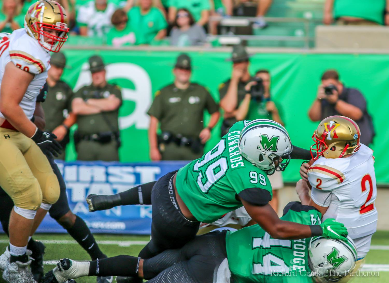 Marshall+vs+VMI+football+game+-+August+31st.+