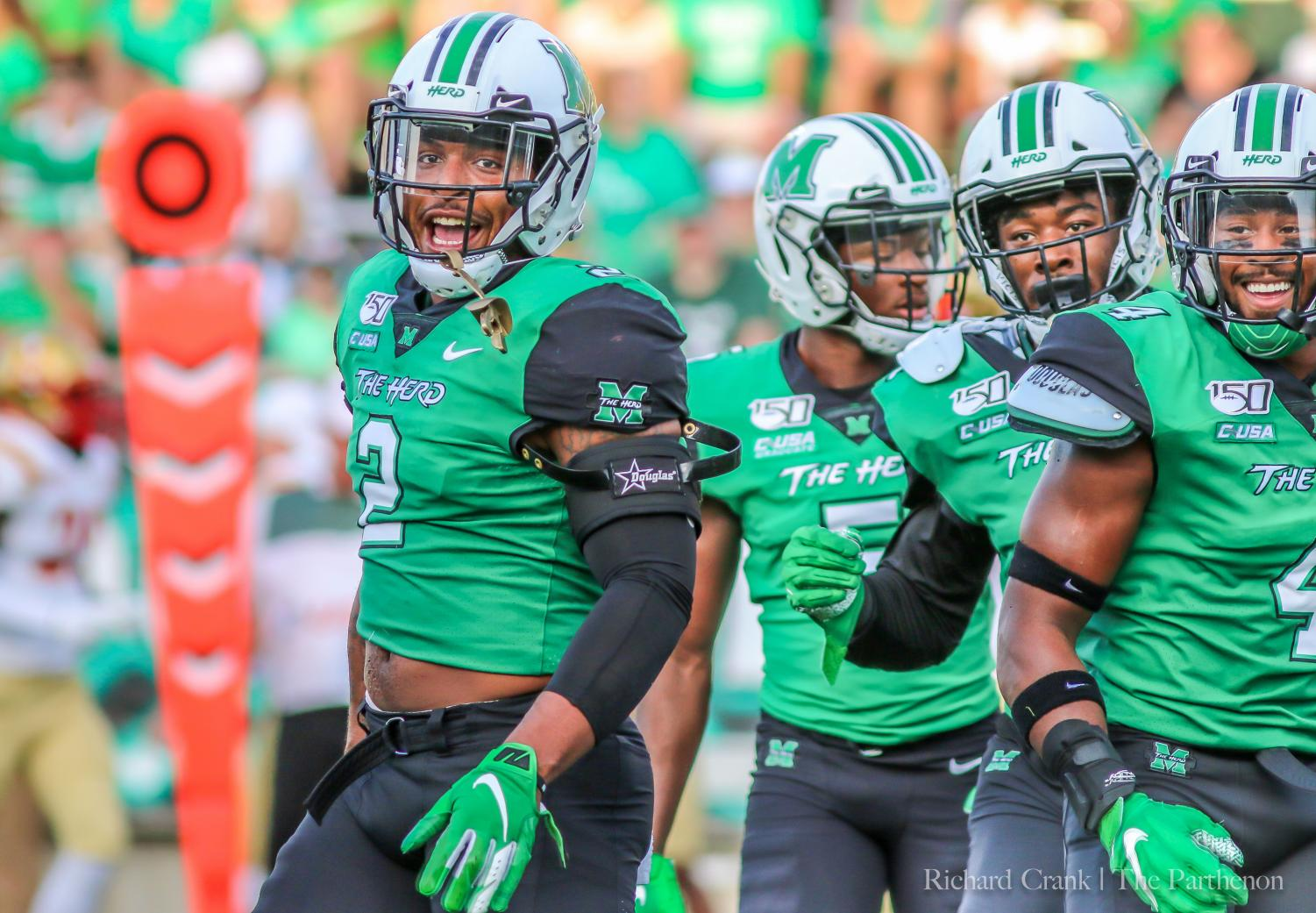 Marshall vs VMI football game - August 31st.