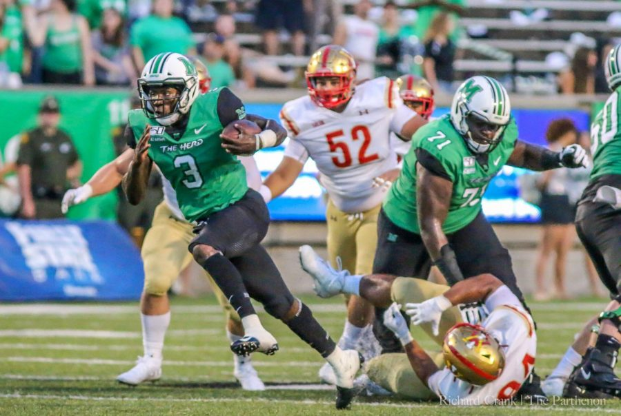 Marshall+vs+VMI+football+game+-+August+31st.+