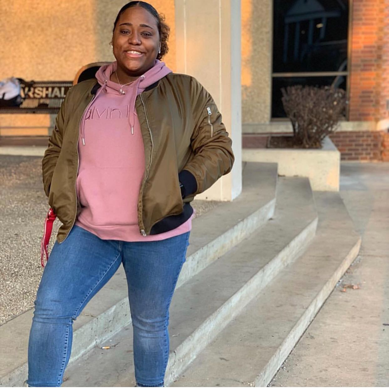 Senior Zaire Chester a is president of a Delta Sigma Theta Sorority Incorporated chapter, a West Virginia state facilitator for Delta Sigma Theta and a member of Marshall's Black United Students, Young Democrats and Pre-Law Club.