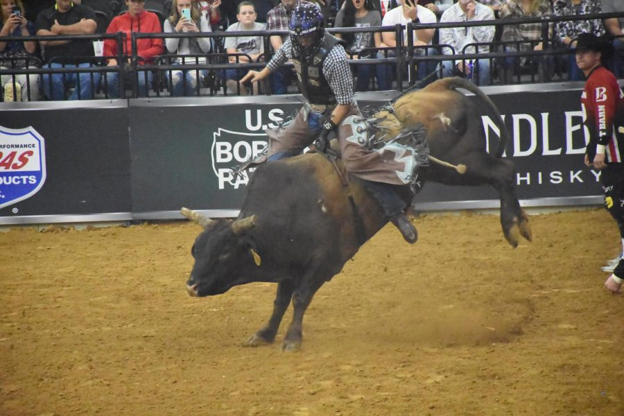 The Professional Bull Riders Pendleton Whisky Velocity Tour makes a stop in Huntington Friday, Oct. 4 at the Big Sandy Superstore Arena.