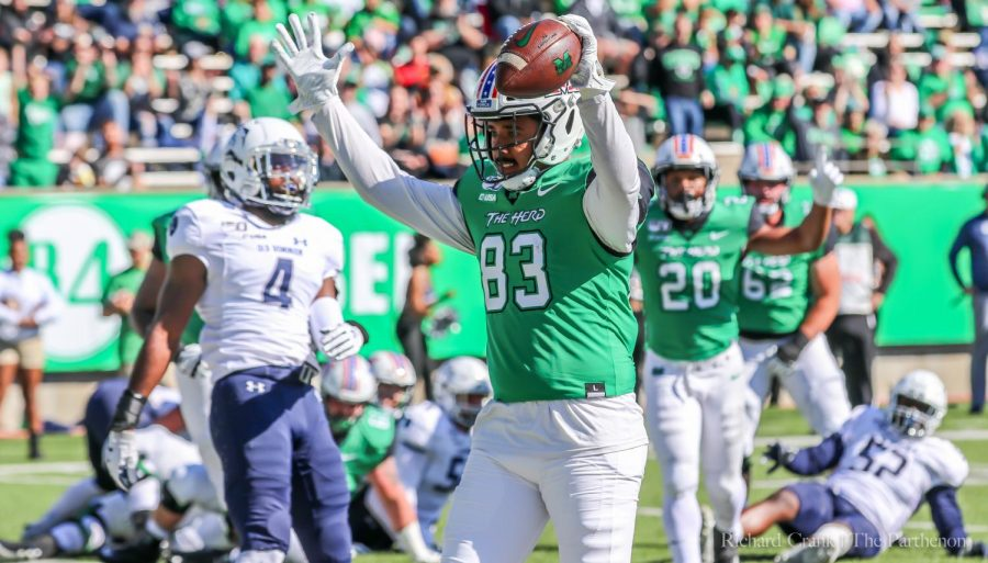 Marshall+football+vs+Old+Dominion+on+Oct.+12%2C+2019.