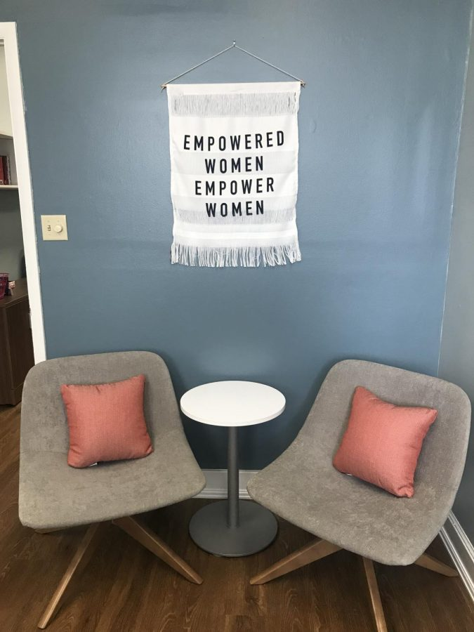 Empowering+decor+is+located+inside+the+new+Women%E2%80%99s+and+Gender+Center+to+make+students+feel+more+welcome.