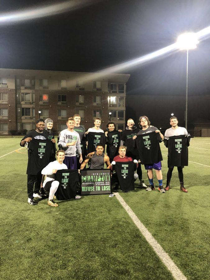 2019 Fall Flag Football Winners