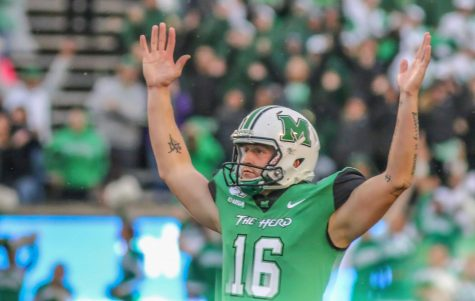 Marshall football dismisses safety Tiquan Lang