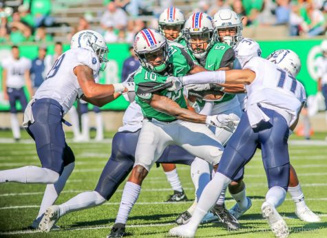 Marshall Herd stampedes over VMI Keydets in home opener