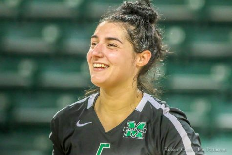 Herd volleyball captures last regular season game win