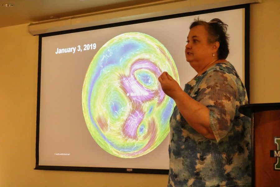 Students, community members attend Climate Reality Project presentation by Marshall professor