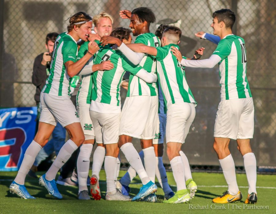 Men's Soccer beats Kentucky, 1-0 on Nov. 3, 2019.