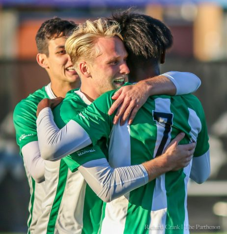 Herd men's soccer dominant in home win