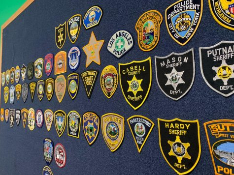 MUPD patch board sentimental to local law enforcement