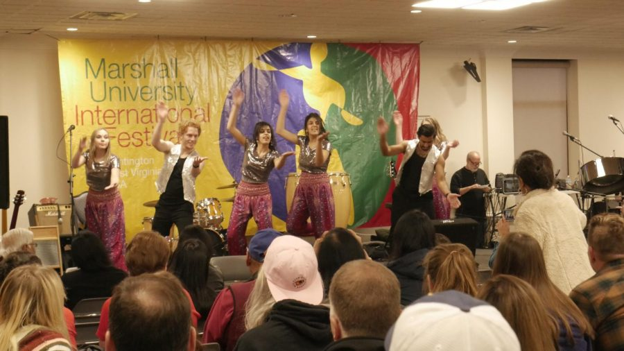 Attendees of the 56th annual International Festival experienced a variety of foods, fashions and other cultural elements  Nov. 9 in the Memorial Student Center.