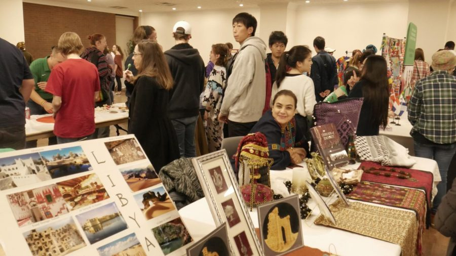 Marshall+students+and+community+members+experienced+a+variety+of+cultures+at+the+56th+annual+International+Festival+Nov.+9+in+the+Memorial+Student+Center.
