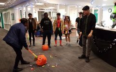 International students experience Halloween spirit during INTO Spooky Halloween Party