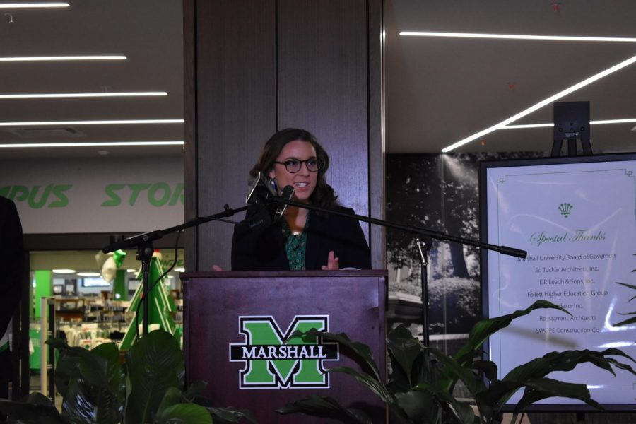 Marshall University unveiled the newly renovated Memorial Student Center Dec. 5.