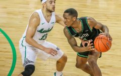 Herd men's basketball survives against the Monarchs, 68-67