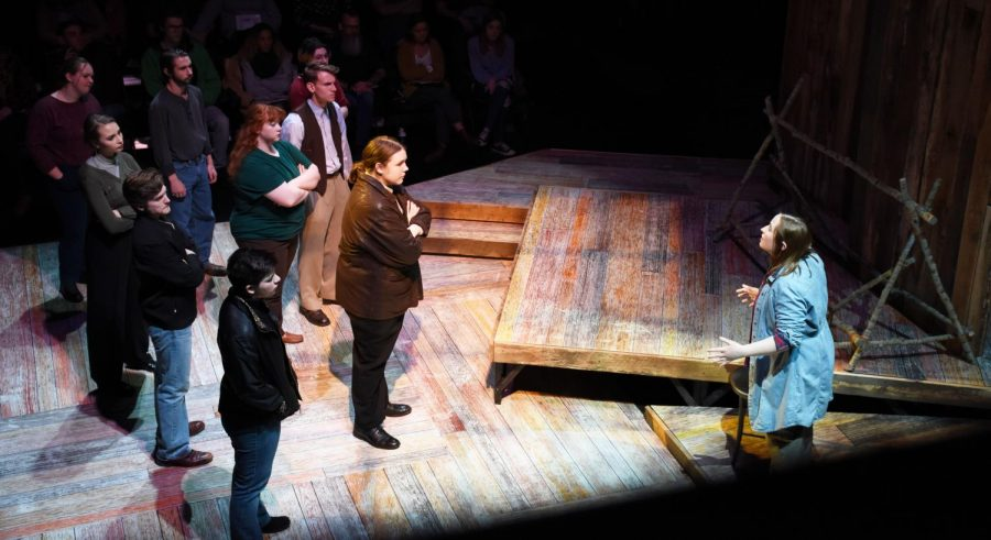 """The Laramie Project"" was a Marshall University School of Theatre project which told the story of Matthew Shepard, a gay man who was murdered in Laramie, Wyo."