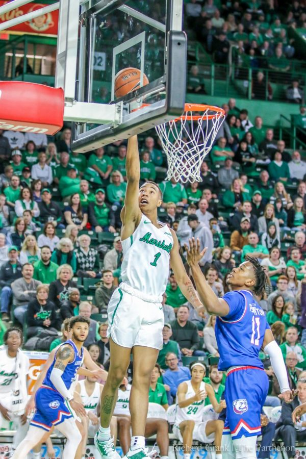Marshall+men%27s+basketball+defeated+LA+Tech+in+overtime%2C+83-79%2C+on+2%2F8%2F2020.+