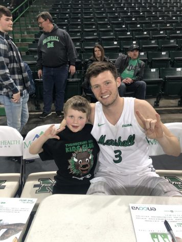 Behind the scenes of the unsung hero of Marshall men's basketball