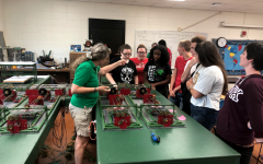 STEM majors participate in real-world work experience