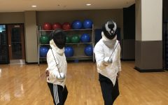 Fencing Club makes a point