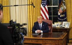 President Trump speaks to the nation from the Oval Office at the White House about the coronavirus Wednesday, March, 11, 2020.