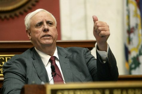 In this January photo, W.Va. Gov. Jim Justice delivers his State of the State address in the House of Delegates' Chamber in Charleston.