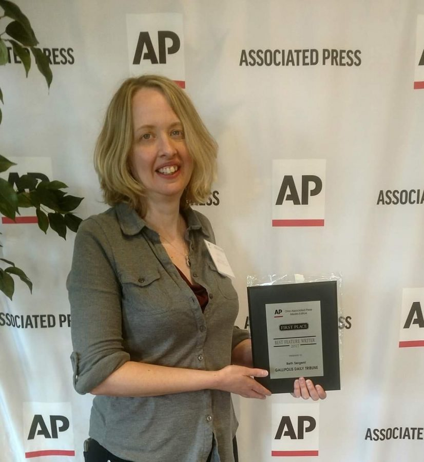 Marshall alumna Beth Sergent won the Associated Press'