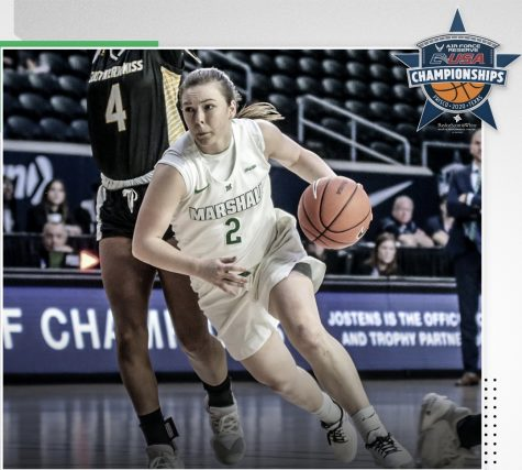 Herd women's basketball defeats Golden Eagles in OT in first round of C-USA Tournament
