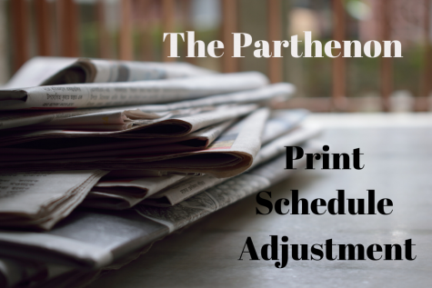 Updates to print schedule