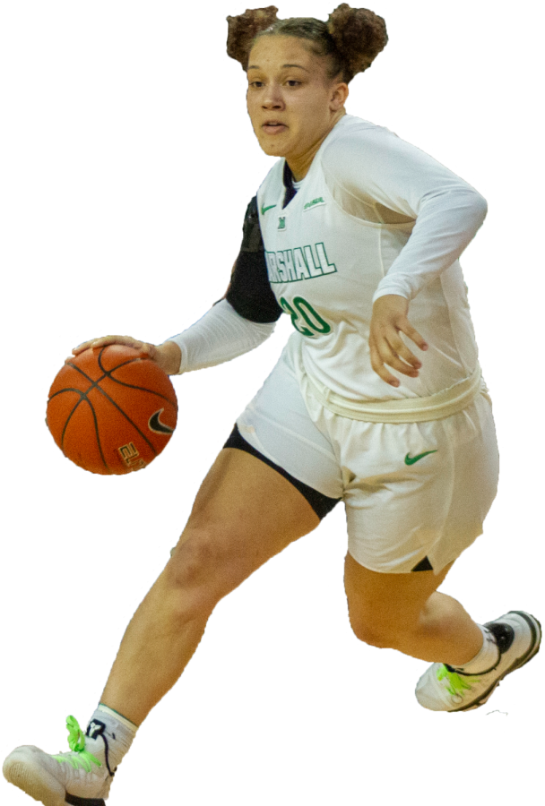 Marshall women's basketball player, #20 Taylor Pearson