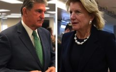 West Virginia Sens. Joe Manchin (D) and Shelley Moore Capito (R)