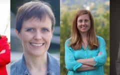 Natalie Cline, Cathy Kunkel, Hilary Turner, Paula Jean Swearengin