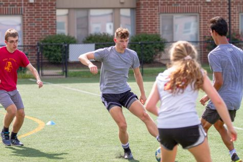 Intramural sports underway for fall semester