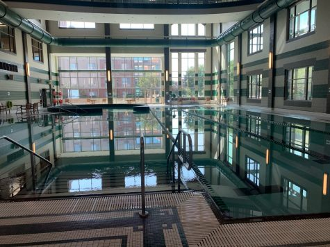 Rec Center provides swimming lessons