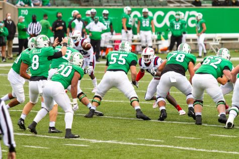 No. 16 Marshall steps out of conference  to face UMass