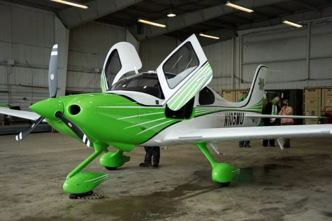 The first plane was delivered to Yeager Airport, home of the Bill Noe Flight Shool Training Facility, on October 29, 2020.