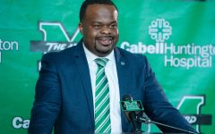 Charles Huff was named Marshall University's head coach in January 2021.