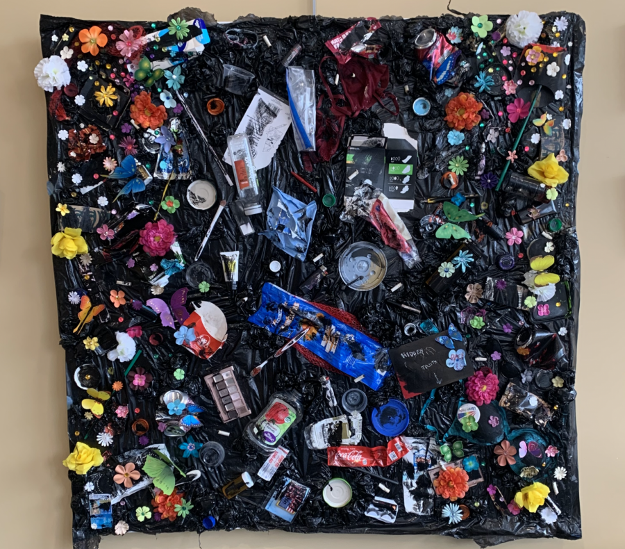 A purpose for plastic: raising awareness with art