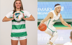 Senior guard Jarrod West  of men's basketball and freshman forward Abi Hugh of women's soccer are this week's athletes of the week.