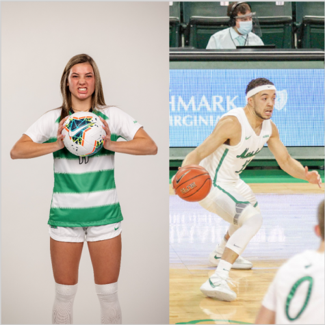 Senior guard Jarrod West  of mens basketball and freshman forward Abi Hugh of womens soccer are this weeks athletes of the week.