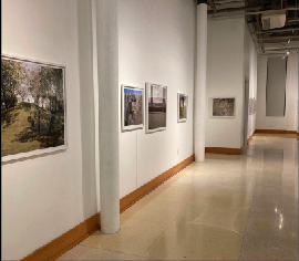 Art exhibit highlights forgotten history of American wests featured at theCharles W. and Norma C. Carroll Gallery at Marshall Visual Arts Center.